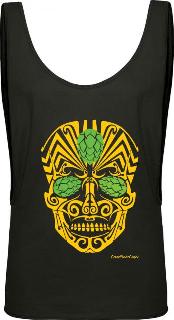 Summer beer sugar skull tshirt women