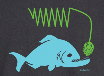 Piranha with hops