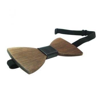 houten strikje sluiting