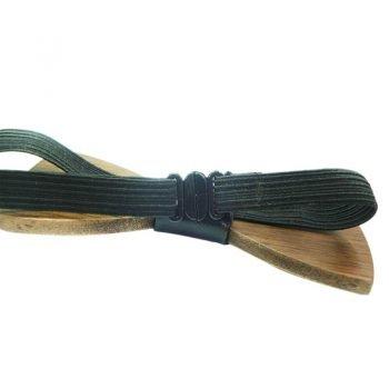 houten strikje met elastisch sluiting