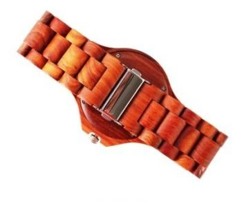 Red Sandalwood wooden Watch