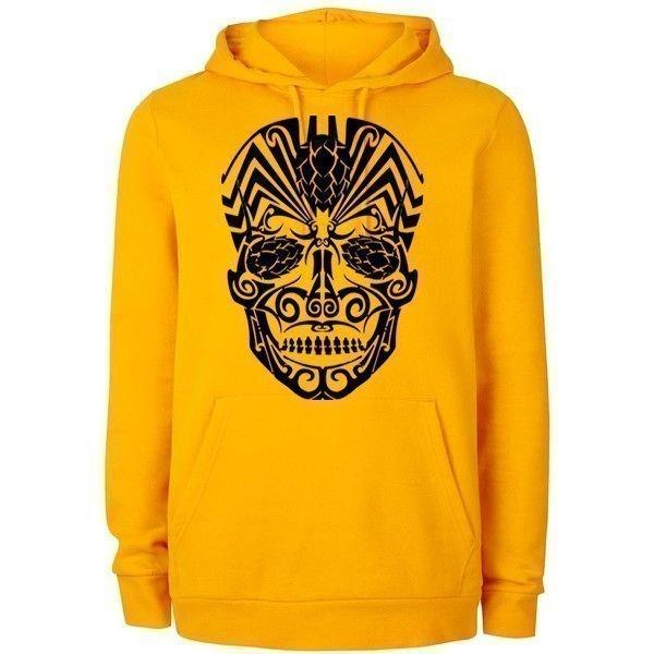 Hoppy sugar skull hoodie