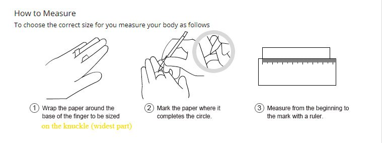 How to mesure ring size