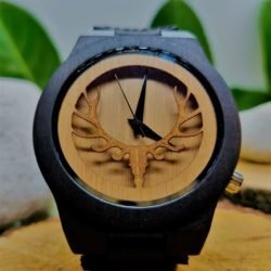 Wooden-watch-bamboo-deer